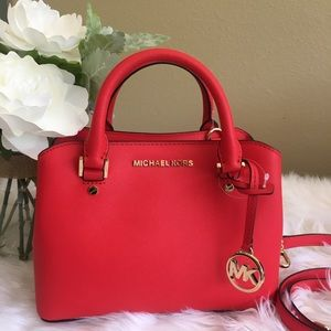 Michael Kors savannah Satchel Bag